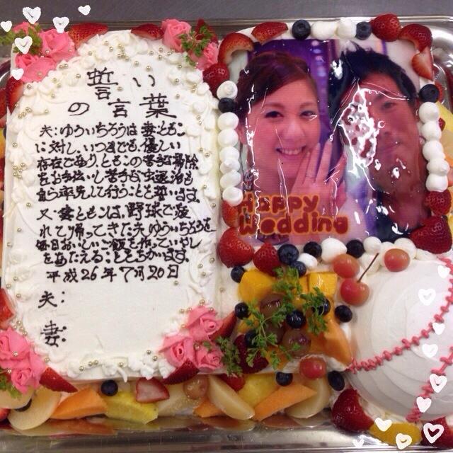 Aiの日記(^^) 『写真ケーキ』